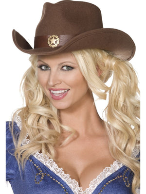 Wild west Cowboy Fancy Dress Hat