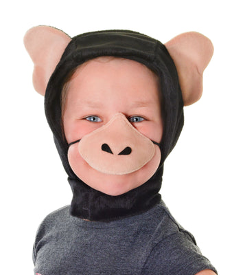 Chimpanzee Disguise Set (Hood + Nose)**SALE**