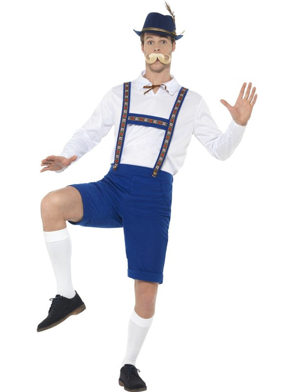 Bavarian Men's Fancy Dress Costume