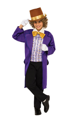 Willy Wonka Boy's Fancy Dress Costume