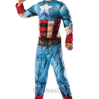 Boy's Deluxe Hulk to Captain America Costume