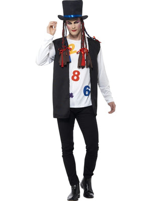 80's Pop Star Fancy Dress Costume