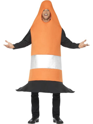 Traffic Cone Men's Fancy Dress Costume