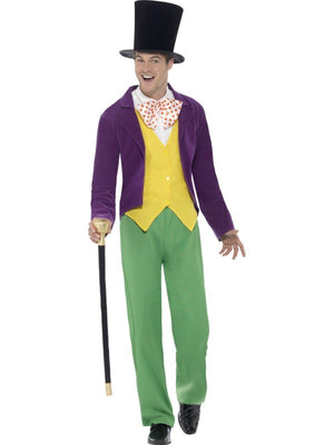 Men's Roald Dahl Willy Wonka Costume