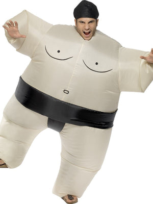 Sumo Wrestler Inflatable Fancy Dress Costume