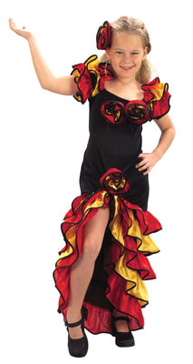Childs Rumba Girl Costume