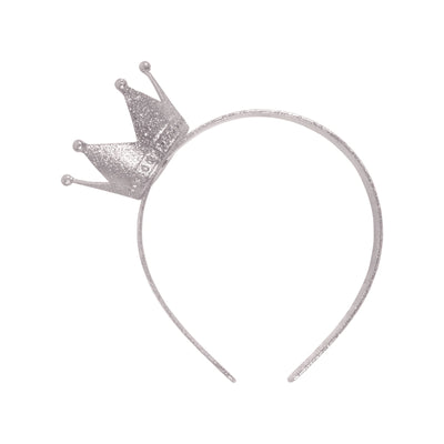 Crown Headband Silver