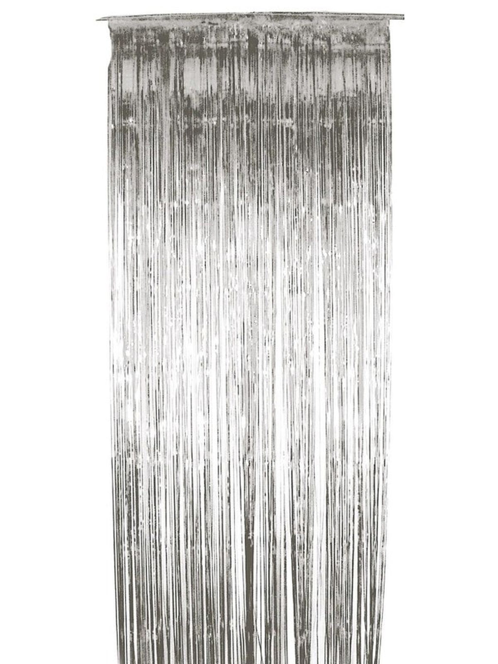 Shimmer Curtain Silver