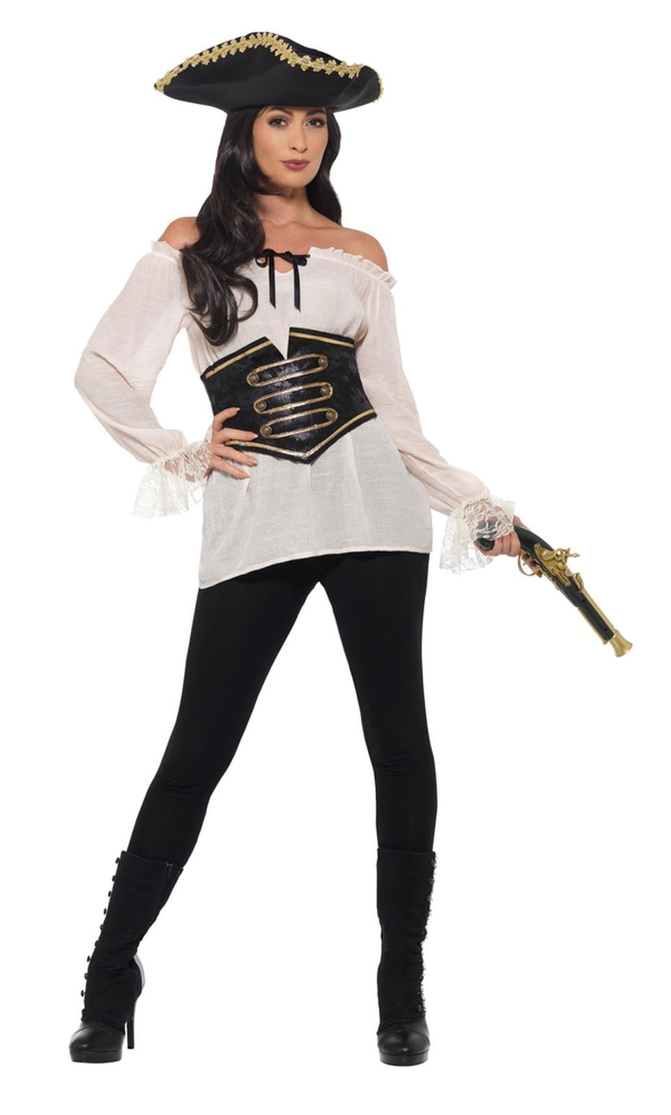 Pirate Shirt Deluxe Women's