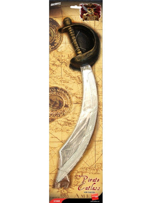 Pirate Sword Cutlass and Eyepatch