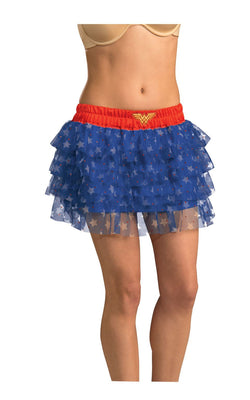 Tutu- Wonder Woman Womens Licensed DC Comics Marvel Superhero