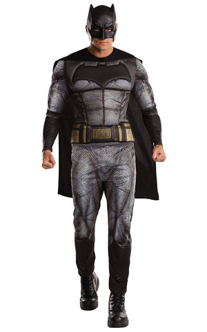 Adult Mens Justice League Batman Fancy Dress Costume