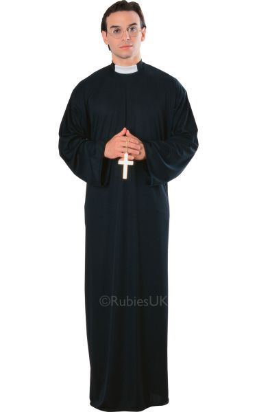 Priest Fancy Dress Costume