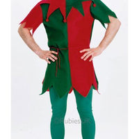 Unisex Economy Elf Fancy Dress Costume