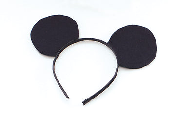 Ears.  Mouse, Black Felt On Hband