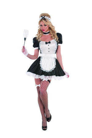 Ladies Sassy Maid Fancy Dress Costume