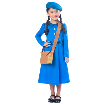 1940s and 1950s British School Girl costume