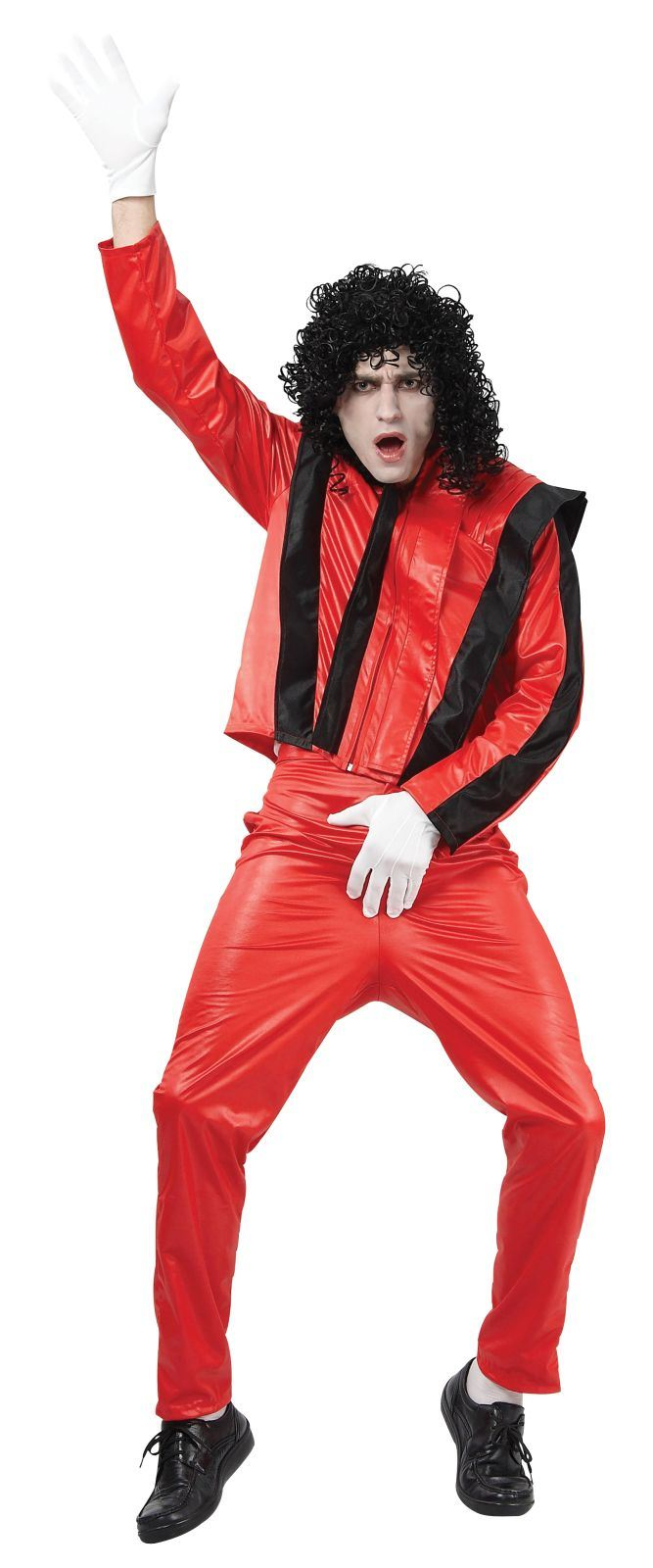Male Red Superstar Costume