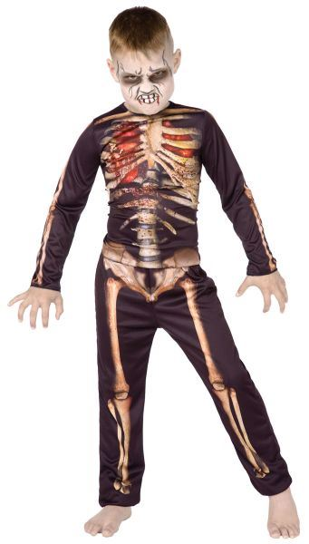 Skeleton 3D Style Costume