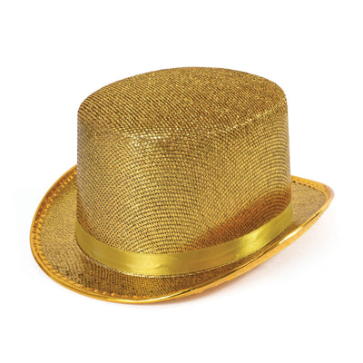 Gold Lurex Top Hat