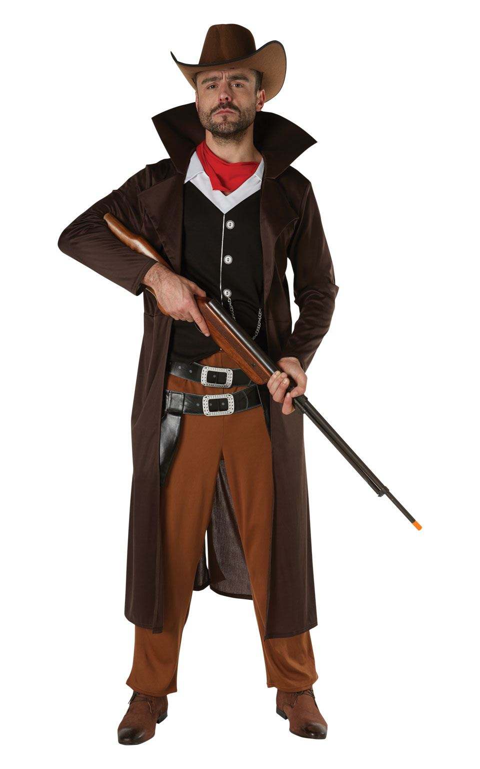 Gunslinger Men's Fancy Dress Costume
