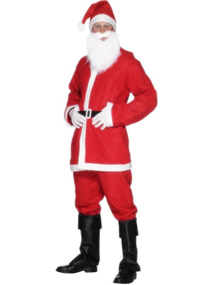 Bargain Santa Fancy Dress Costume
