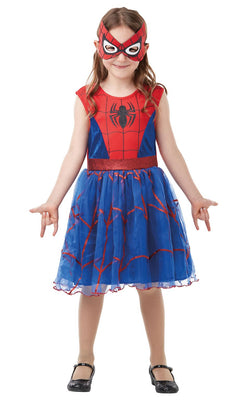 Spider-Girl Marvel DC Comics Girls Fancy Dress Costume