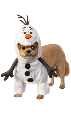 Olaf Pet Costume