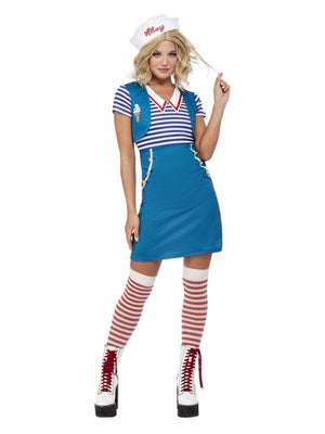 Ice Cream Sailor Costume, Blue