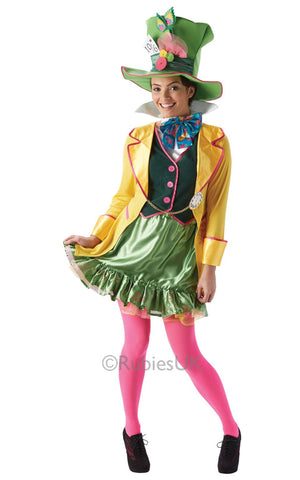 Disneys Ladies Mad Hatter Costume