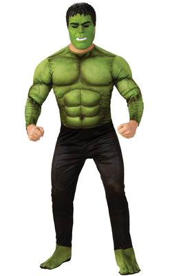 Hulk Avengers Endgame Marvel DC Comics Mens Fancy Dress Costume