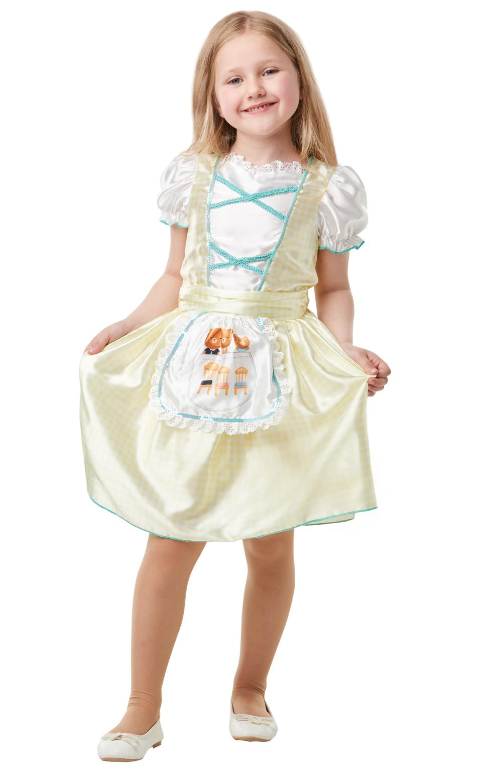 Goldilocks Girls Fancy Dress Costume School Book Week Fancy Dress Outfit