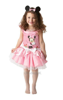 Minnie Mouse Pink Ballerina Fancy Dress Costume