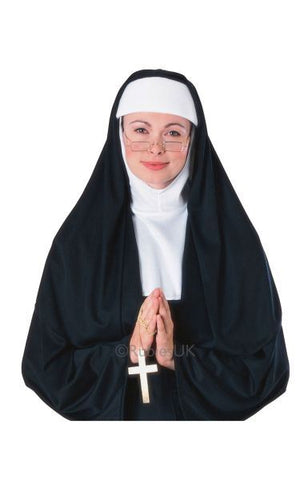 Nun Fancy Dress Costume