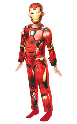 Iron Man Marvel Deluxe Costume