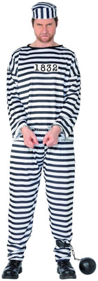 Convict Fancy Dress Costume