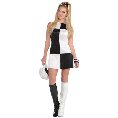 Mod Girl Women's Fancy Dress Costume