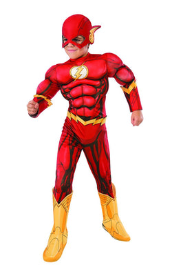 Flash Deluxe Boy's Fancy Dress Costume