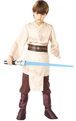 Jedi Boy's Deluxe Disney Star Wars Costume