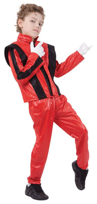 Childs Red Superstar Costume