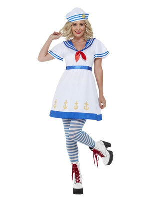 High Seas Sailor Costume, White
