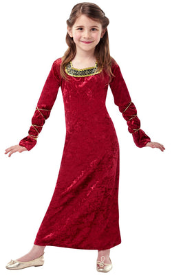 Kids Lady of the Palace Fancy Dress Costume