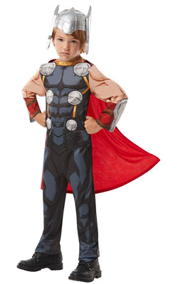 Thor Marvel Boy's Fancy Dress Costume