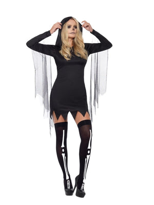 Reaper Sexy Women's Fancy Dress Costume