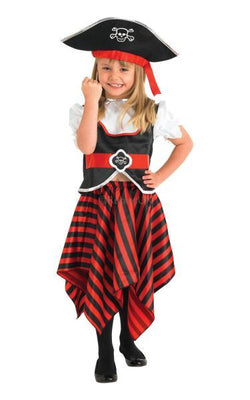 Girl Pirate Fancy Dress Costume