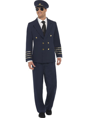 Pilot Fancy Dress Costume