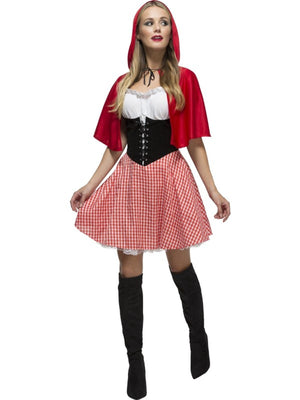 Sexy Red Riding Hood Fancy Dress Costume