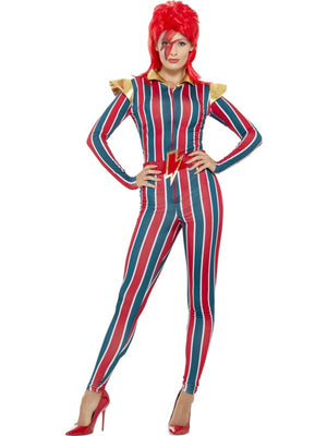 Miss Space Superstar Women's Fancy Dress Costume