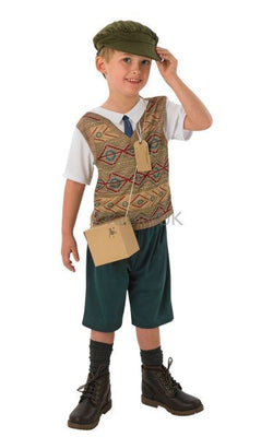 Boy's evacuee costume