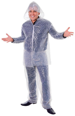 Bristol Novelty Bubble Wrap Suit
